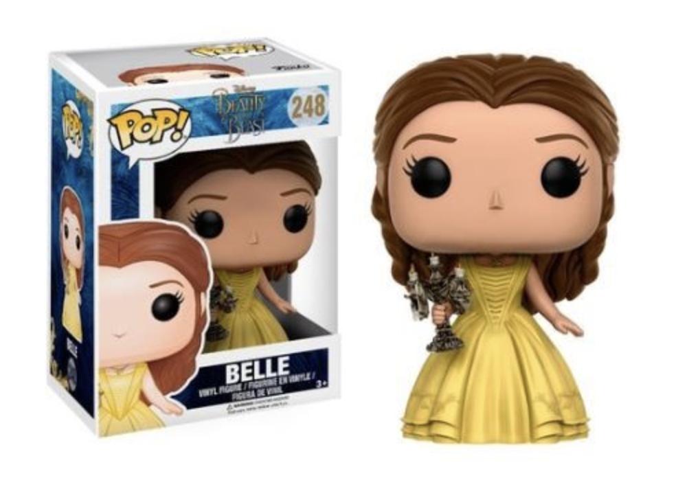 Pop! Disney Beauty and the Beast: Belle with Candlestick Edição Limitada