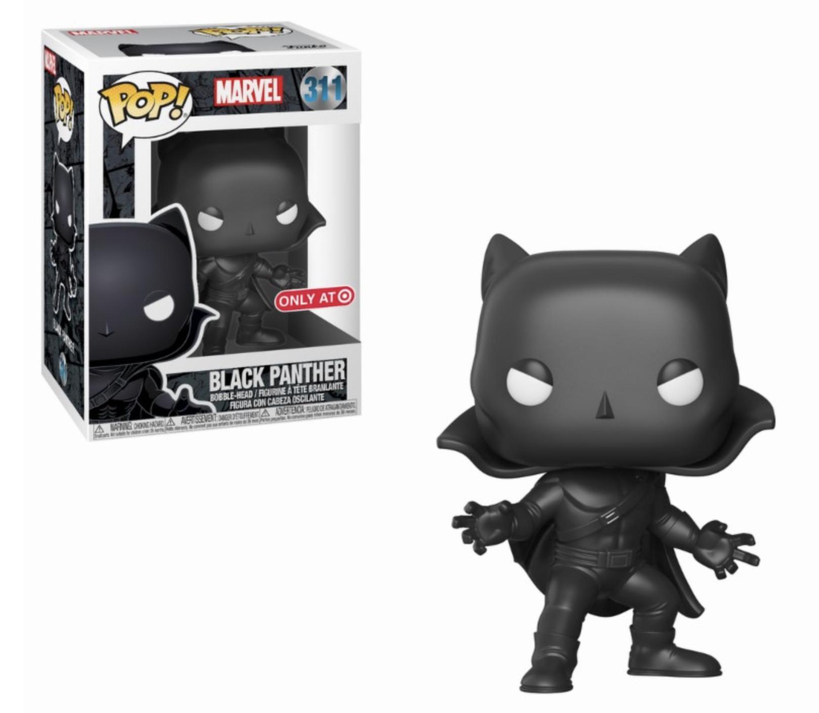 POP! Marvel: Black Panther 1966 Edição Limitada