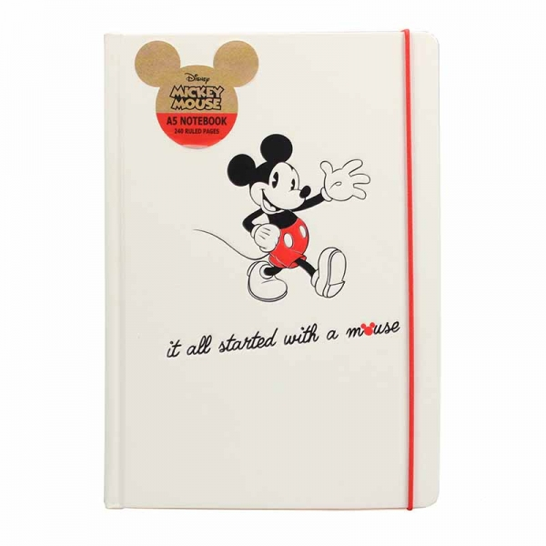 Notebook A5 Mickey Mouse