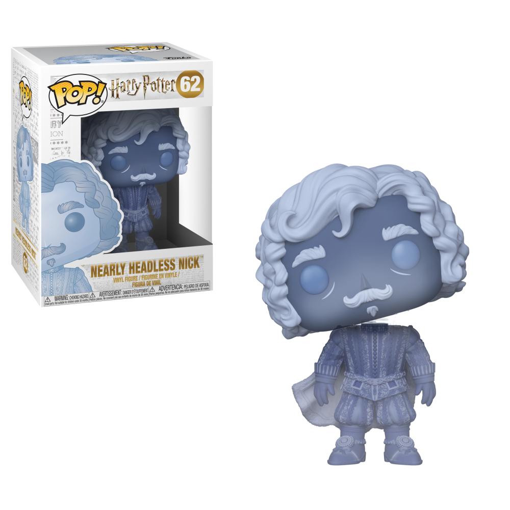 POP! Harry Potter: Blue Translucent Nearly Headless Nick