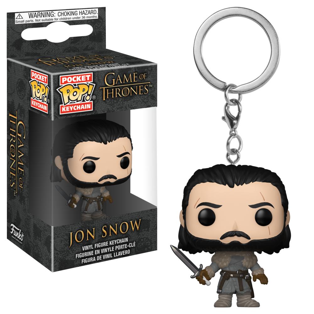 Porta-chaves Pocket POP! Game of Thrones: Jon Snow Beyond the Wall