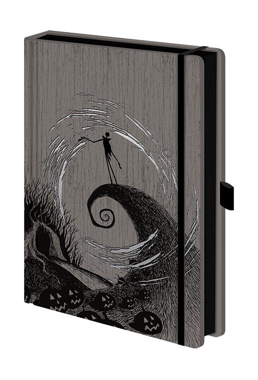 Notebook A5 Premium The Nightmare Before Christmas - Moonlight Madness
