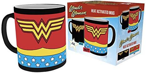 Caneca Mágica Wonder Woman Costume