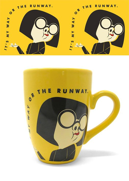 Caneca It's My Way Or The Runway