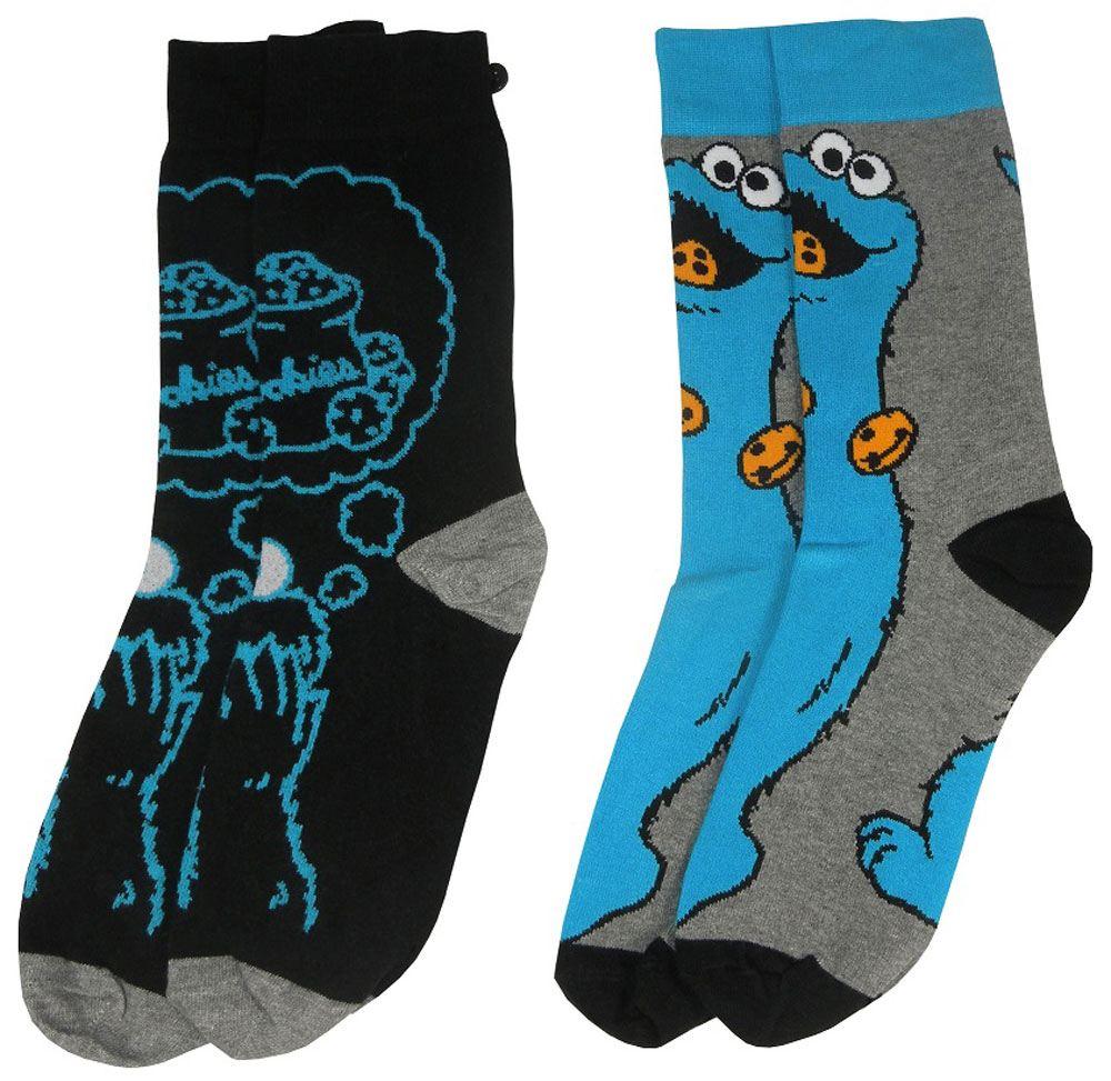 Conjunto de Meias Sesame Street Cookie Monster