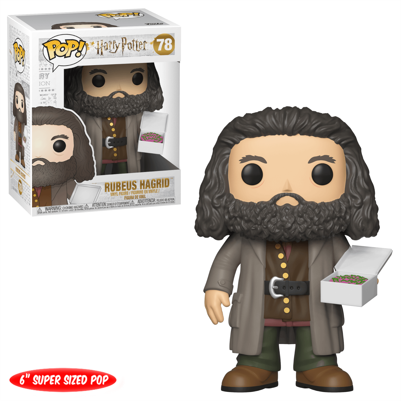 POP! Harry Potter: Rubeus Hagrid with Cake (Super Sized)