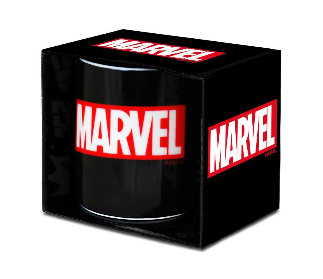 Caneca Marvel Logo Black