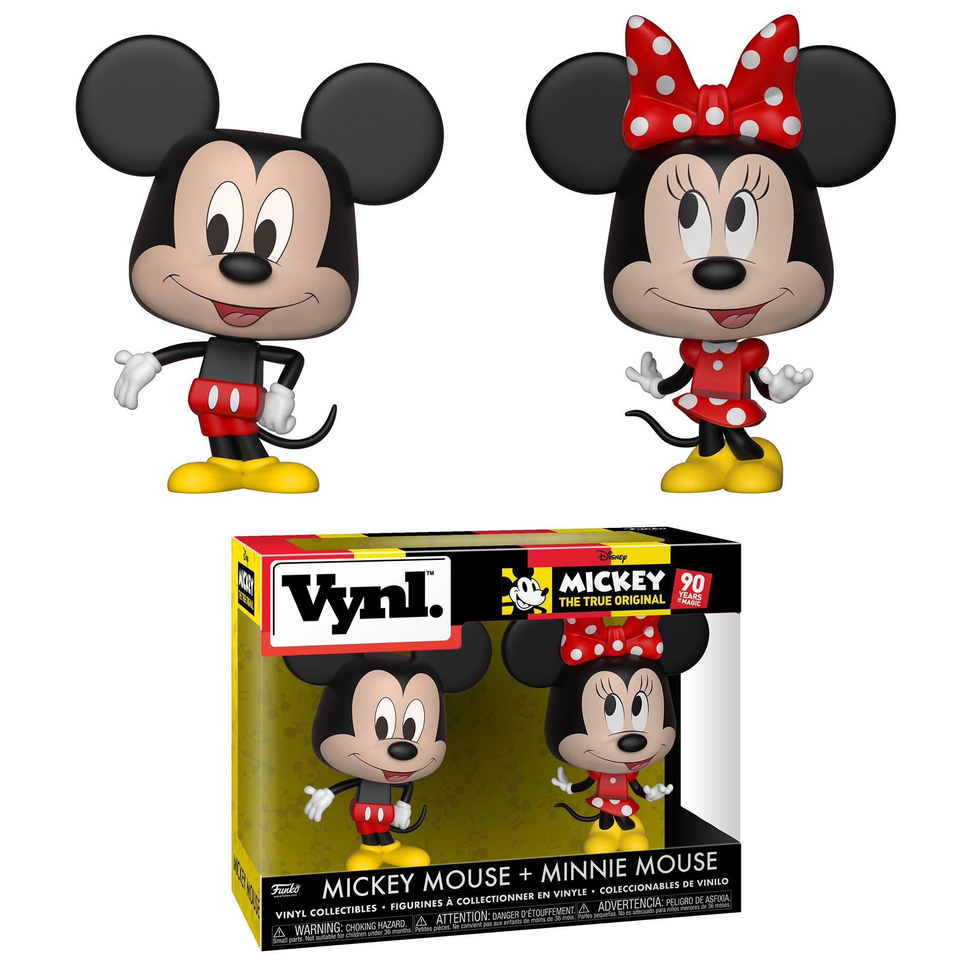 VYNL: Disney - Mickey Mouse & Minnie Mouse