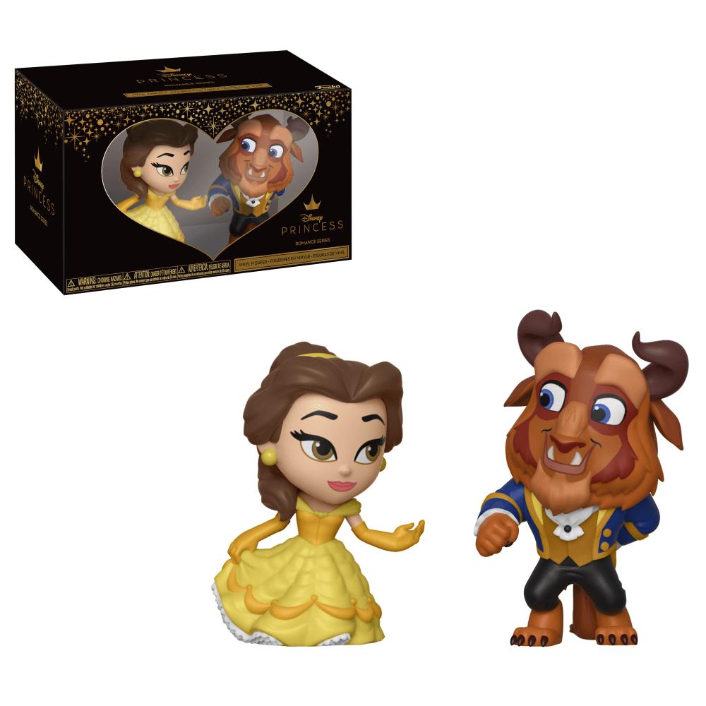 Mini Vinyl Figures Disney Princess Romance Series - Belle & Beast