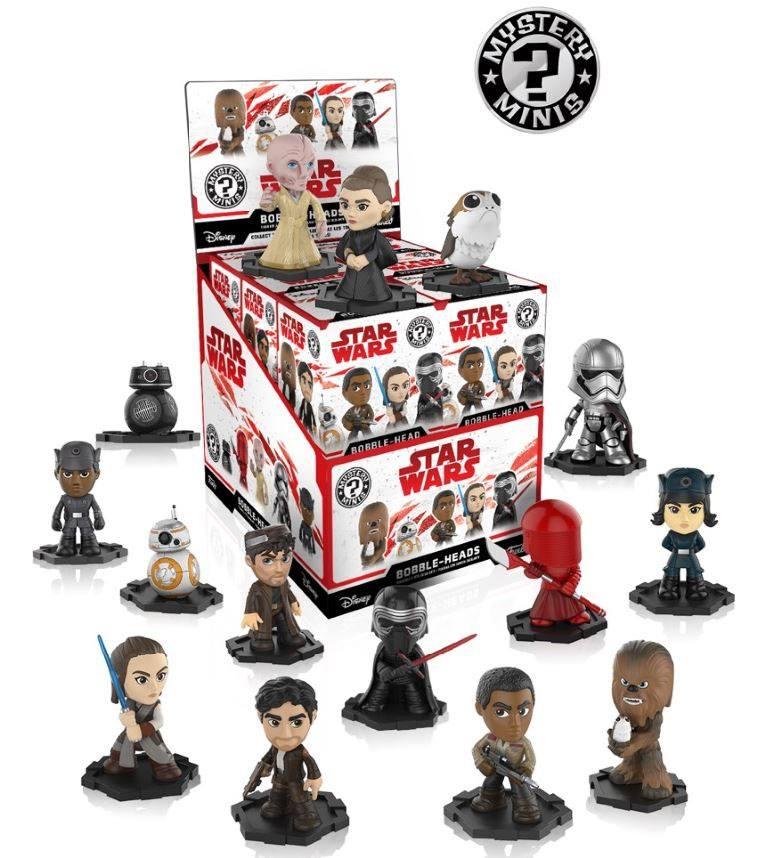 Mystery Mini Blind Box: Star Wars Episode VIII The Last Jedi