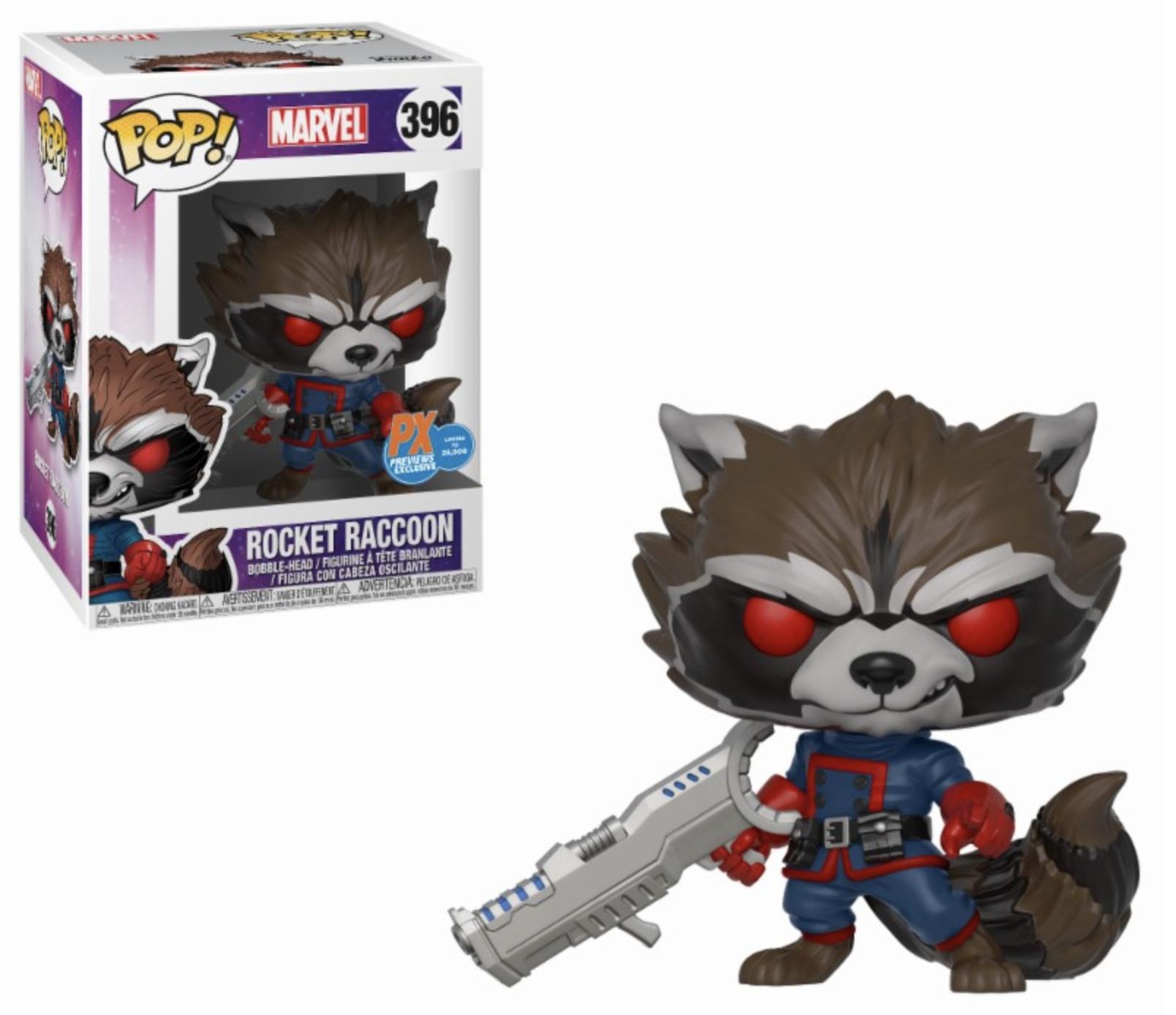 POP! Marvel: GotG Comic - Classic Rocket Raccoon Special Edition