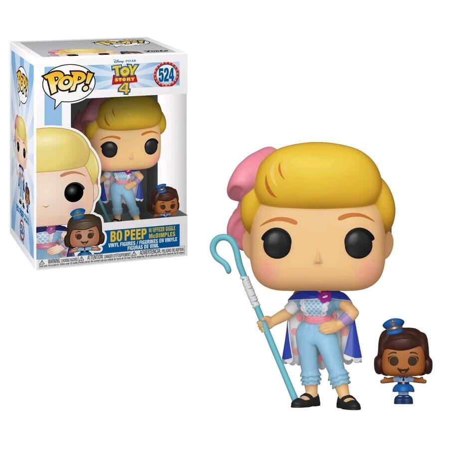 POP! Disney Pixar Toy Story 4: Bo Peep with Officer McDimples