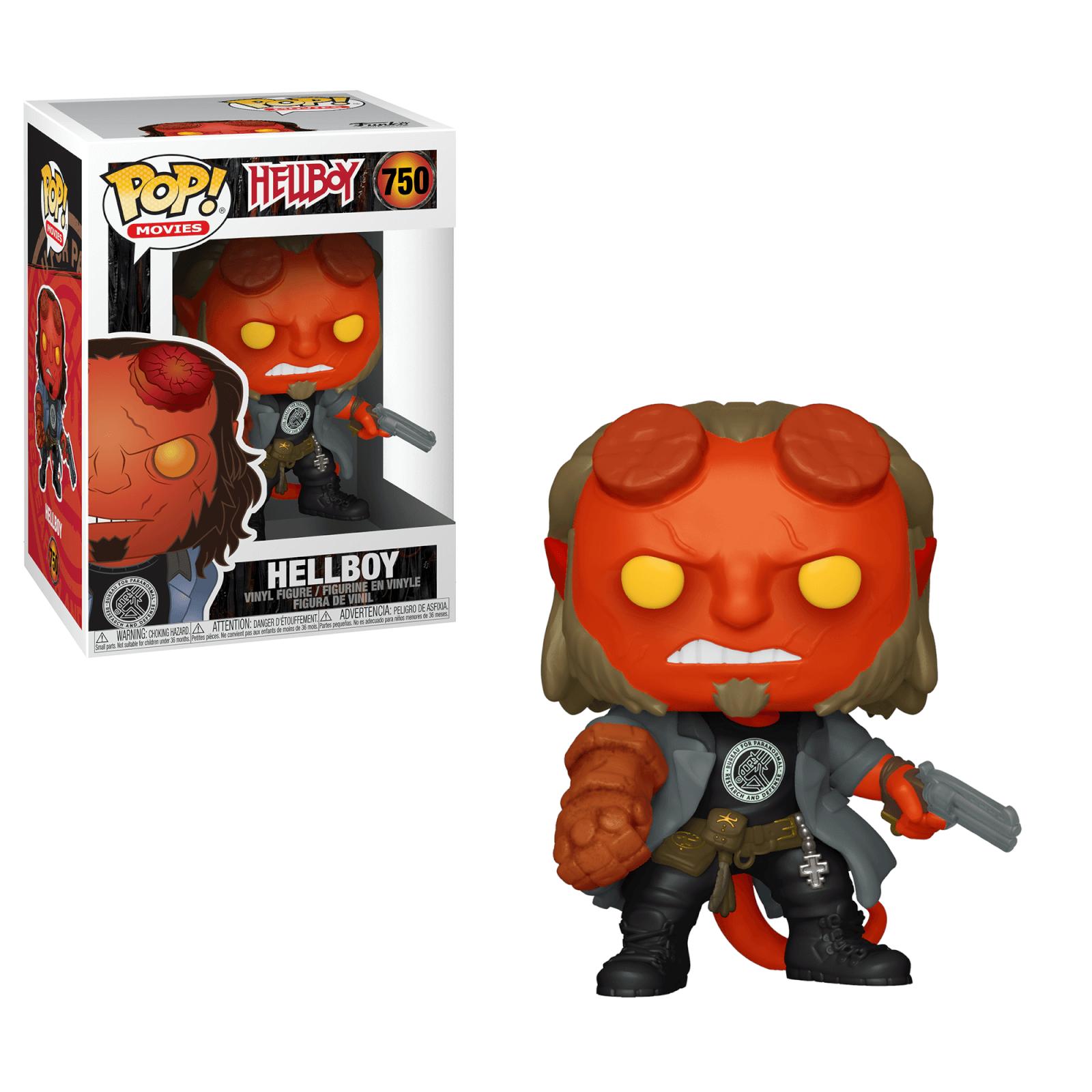 POP! Movies: Hellboy - Hellboy with BPRD Tee