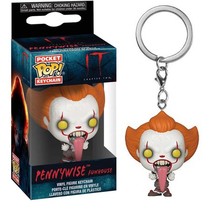 Porta-chaves Pocket POP! IT Chapter 2: Pennywise (Funhouse)