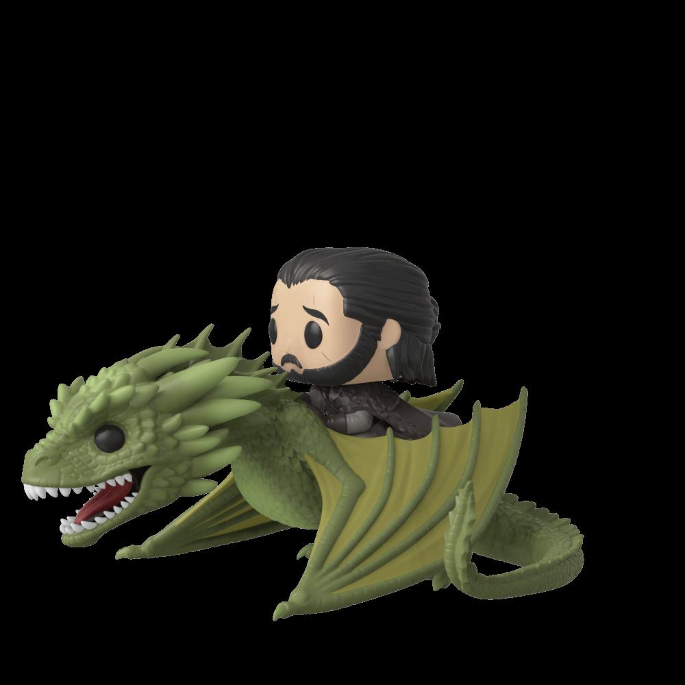 POP! Rides: Game of Thrones - Jon Snow & Rhaegal