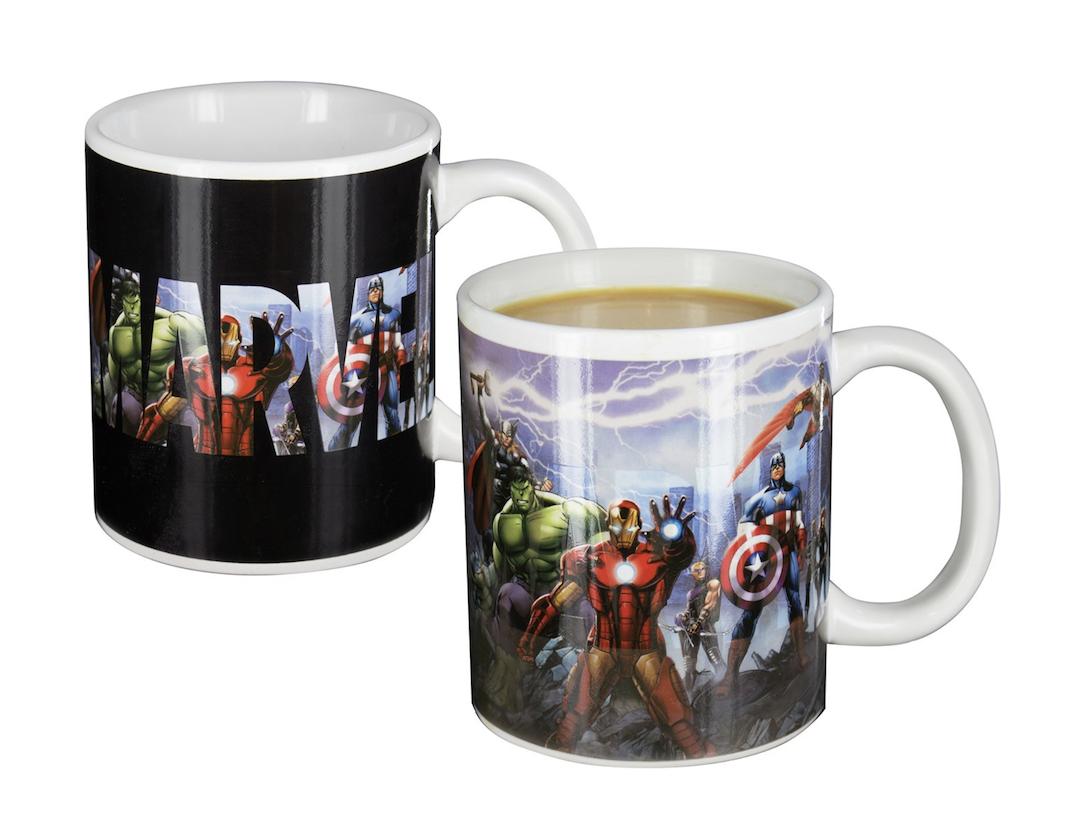 Caneca Mágica Marvel Avengers