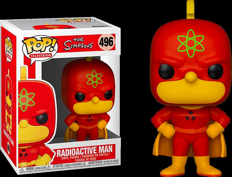 POP! TV: The Simpsons - Radioactive Man