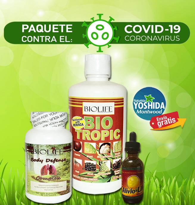 Paquete Contra CORONAVIRUS*