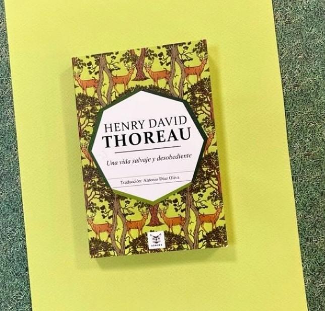 """Henry David Thoreau  """"Una vida salvaje y desobediente"""""""