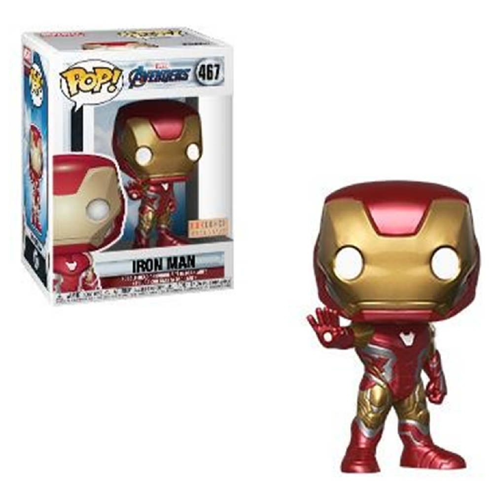 Funko POP Marvel Avengers Issue Iron Man Box Lunch Exclusive