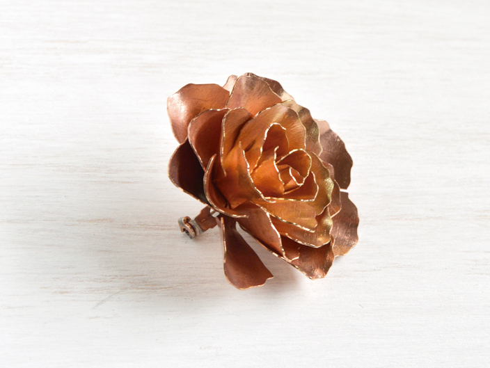 Prendedor Rosa
