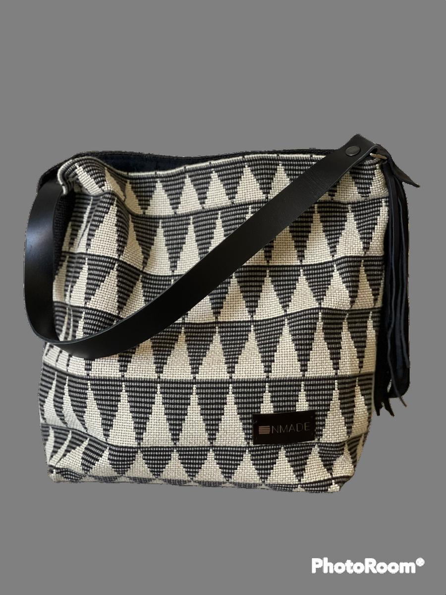 "Shoulderbag Nini ""Triangles"""
