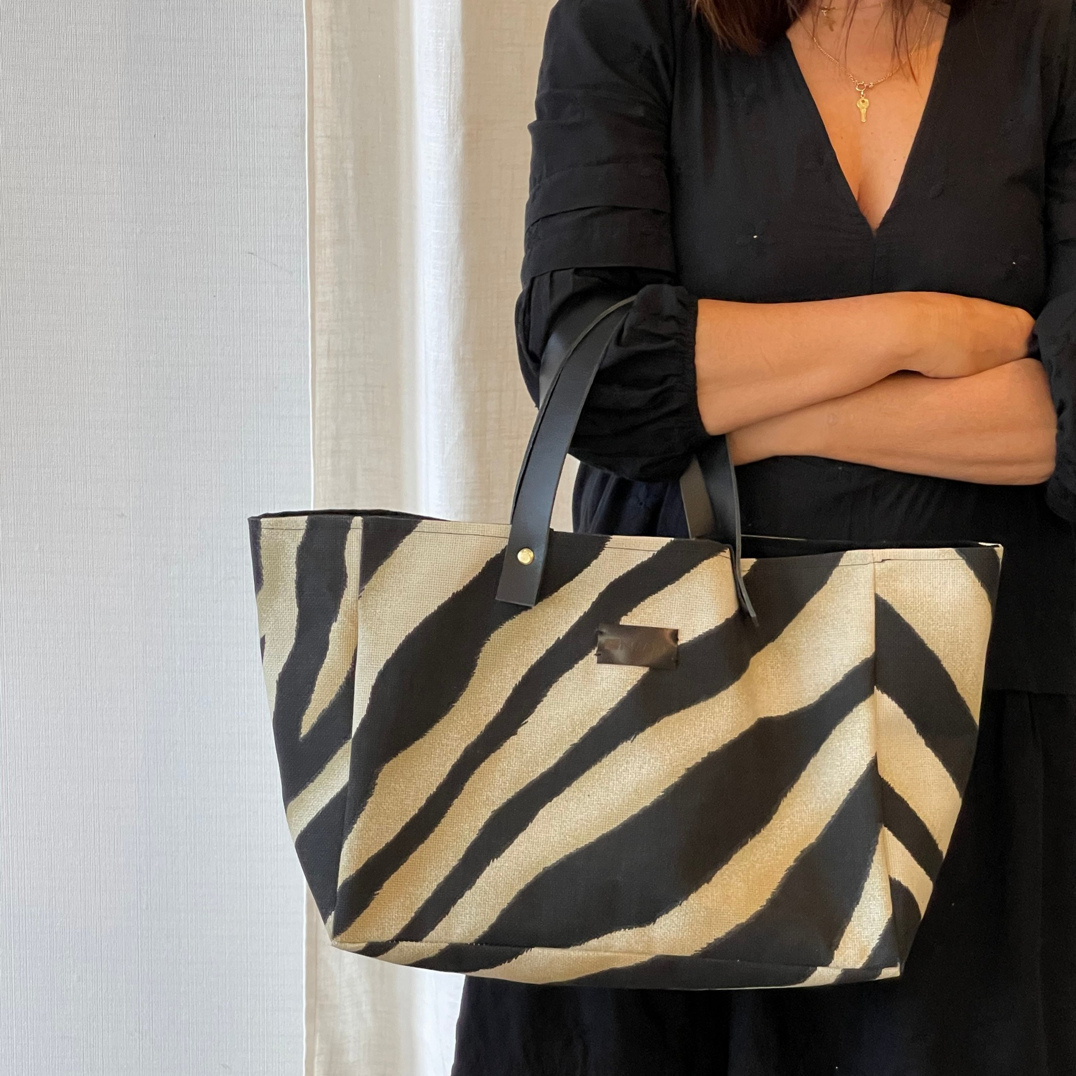 XL Bag Zebra