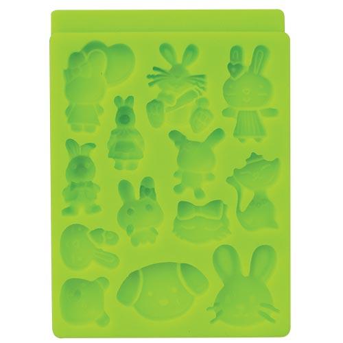 Molde de silicón animalitos 2  4-2052