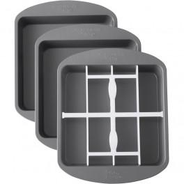 Molde cuadrado con divisor Ant 2105-5745