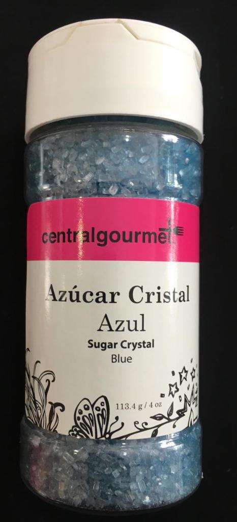Azúcar cristal azúl 4 oz 113.4 gr 9-1003