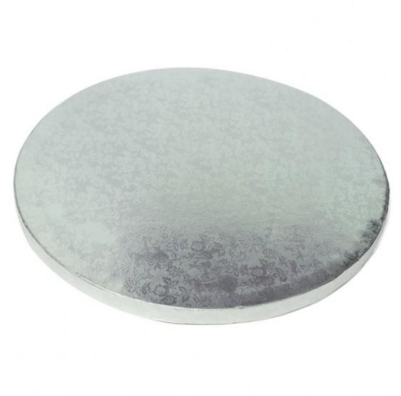 Base redonda plata 11