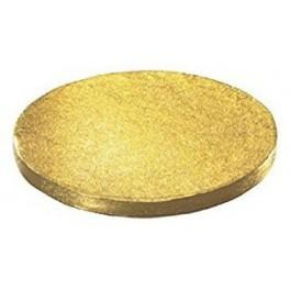 Base redonda oro 10
