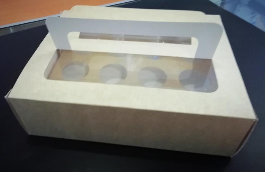 Caja Porta Mini Muffin 12 pz 67867