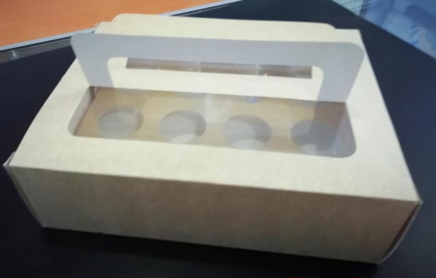 PST Caja porta mini muffin 6 pz 67850