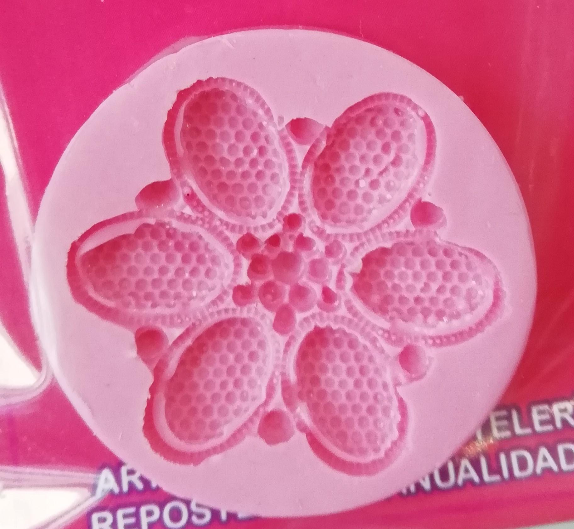 CAC Flor gema de 6 pétalos MSC310