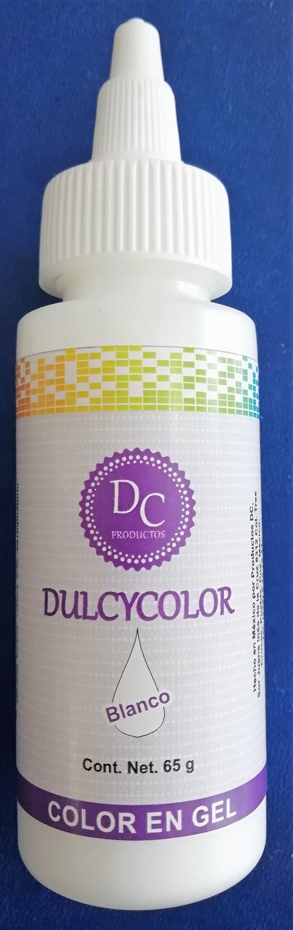 DCC  Color Vegetal Dulcycolor Blanco 65 ml
