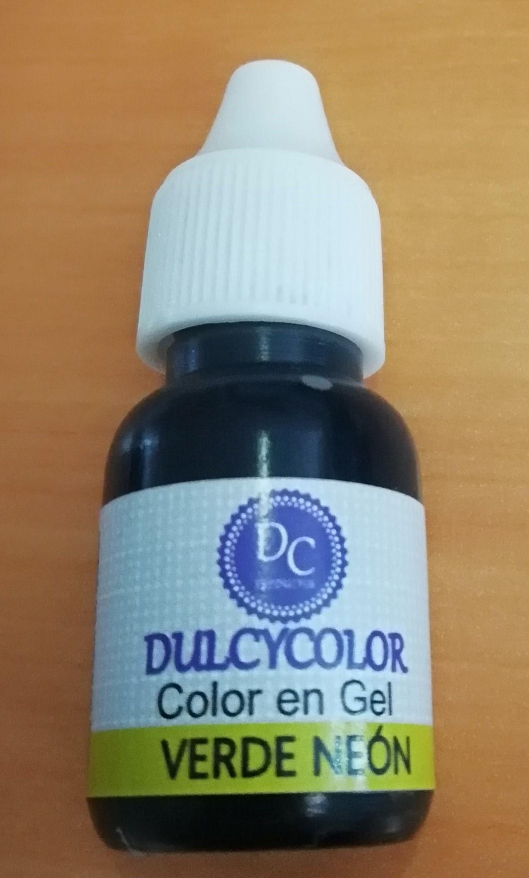DCC Color vegetal Dulcycolor Verde Neón 10 ml
