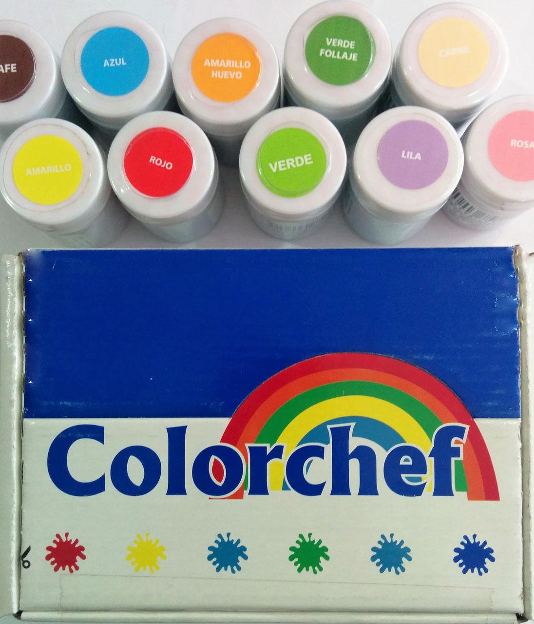 Color en pasta Colorchef 50g Rojo