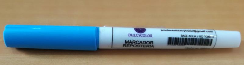 Marcador comestible Dulcycolor azúl cielo