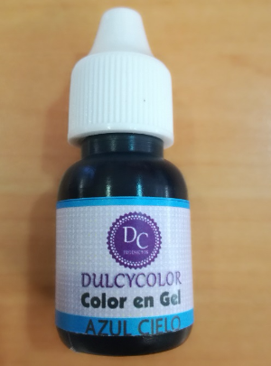 Color vegetal Dulcycolor azúl cielo 10 ml