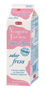 Niagara Farms Yoghurt Fresa