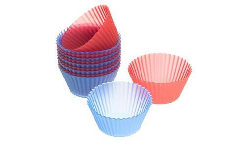 12 Capacillos silicón Easy-Flex 5 cm