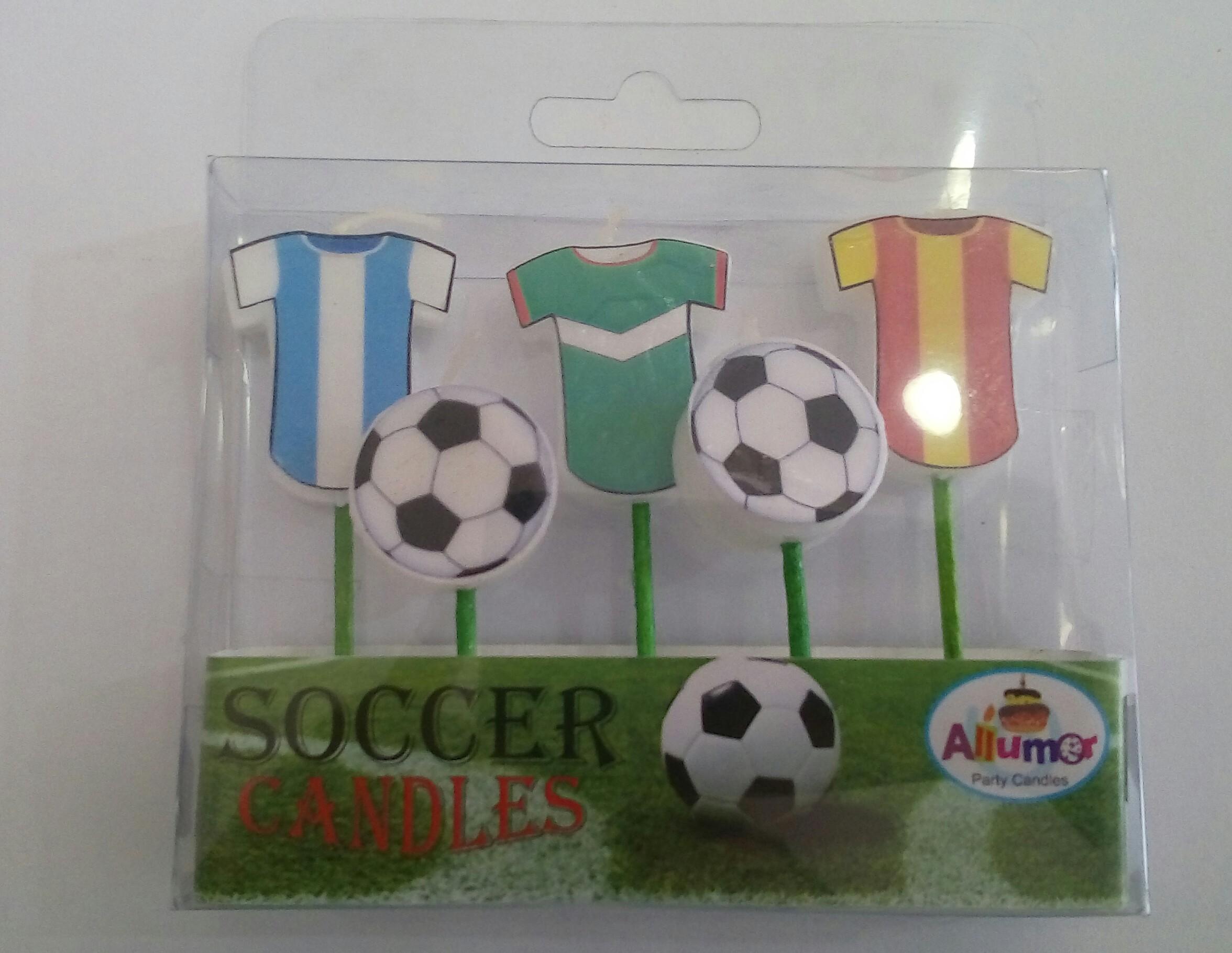 Velas futbol pick-up