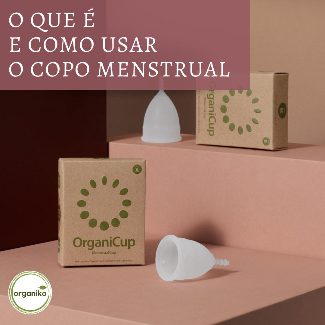 O que é e como usar o copo menstrual