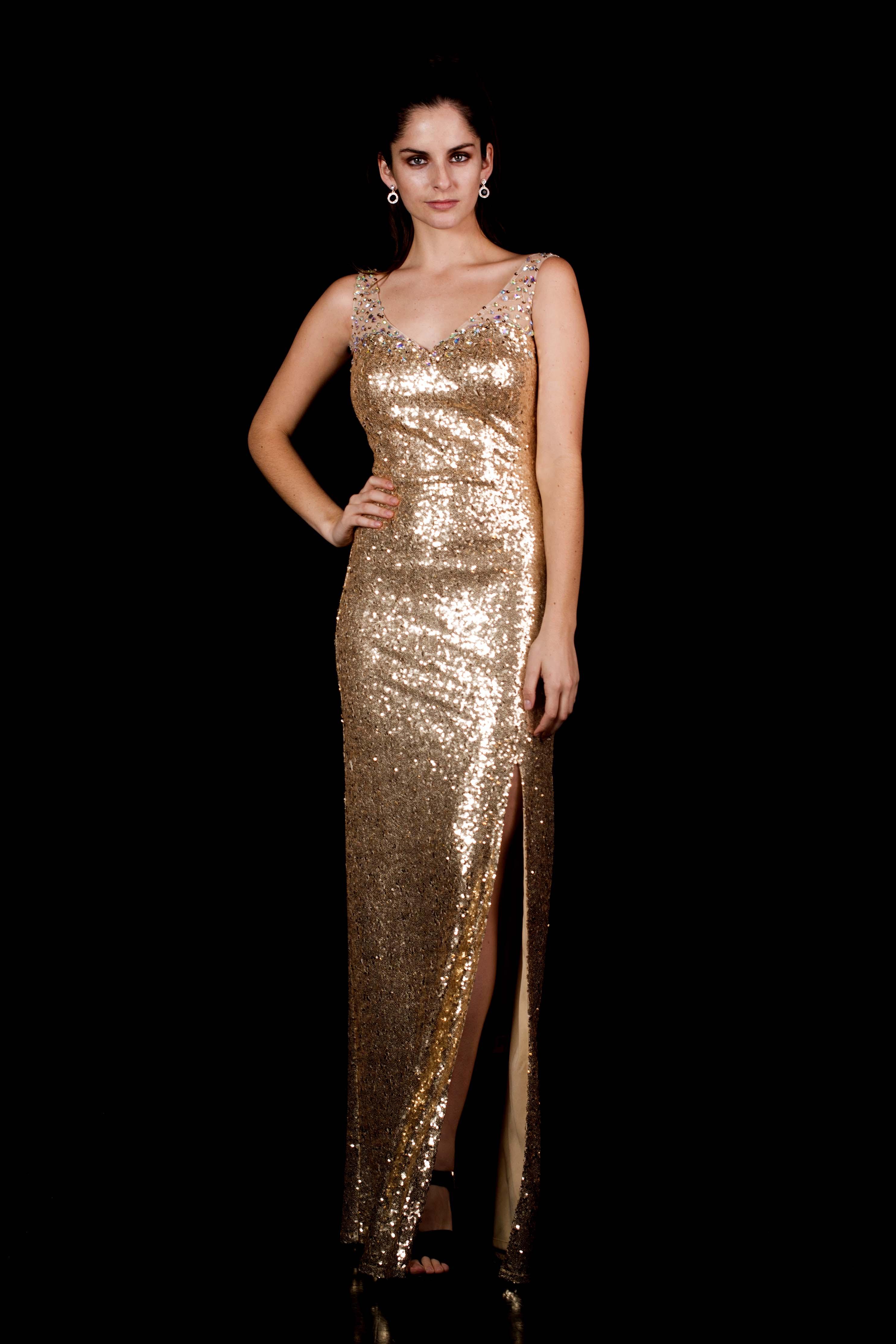 Vestido Lentejuelas de Gala
