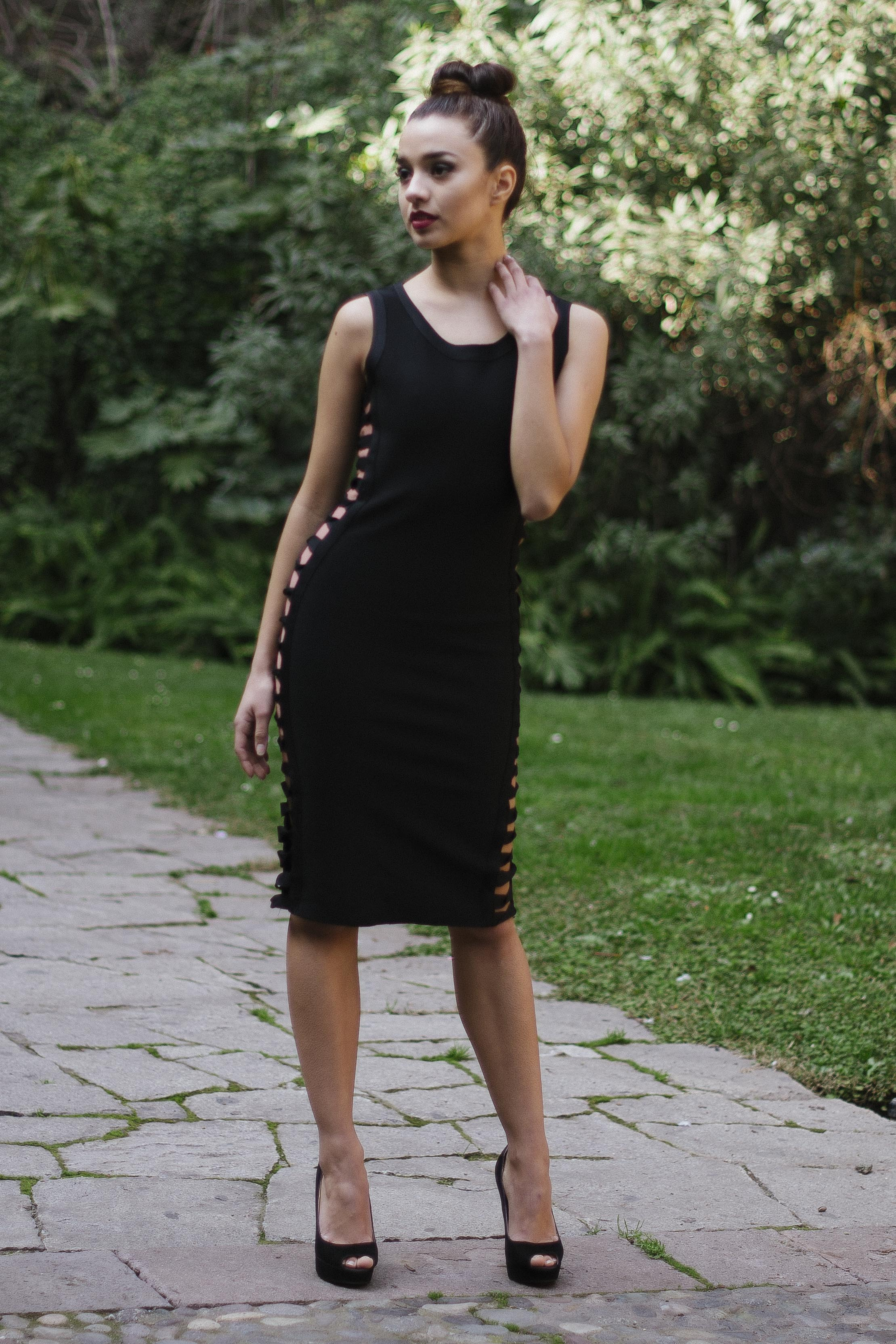 Sensual Black Dress 2