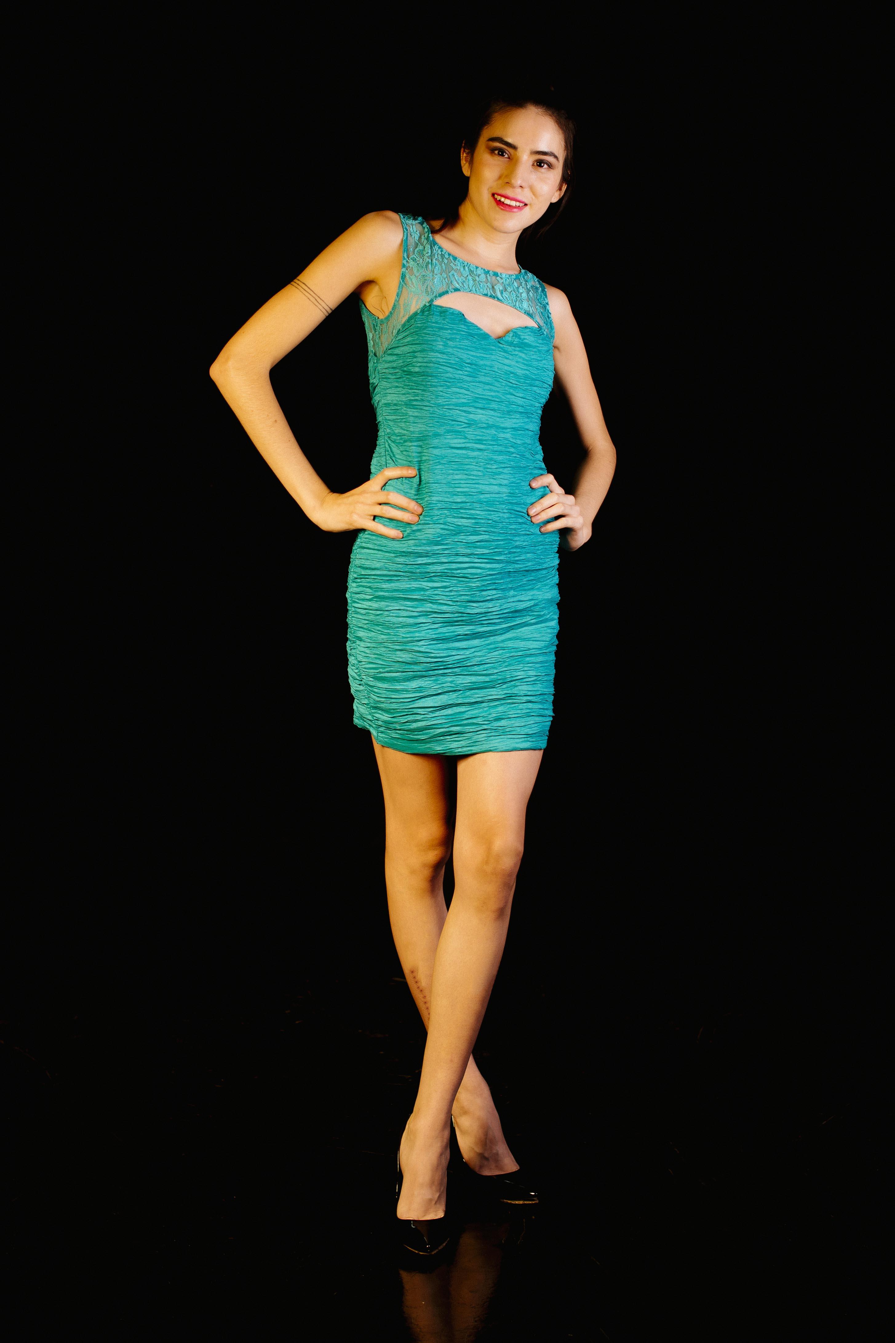 Vestido Mini Crepe