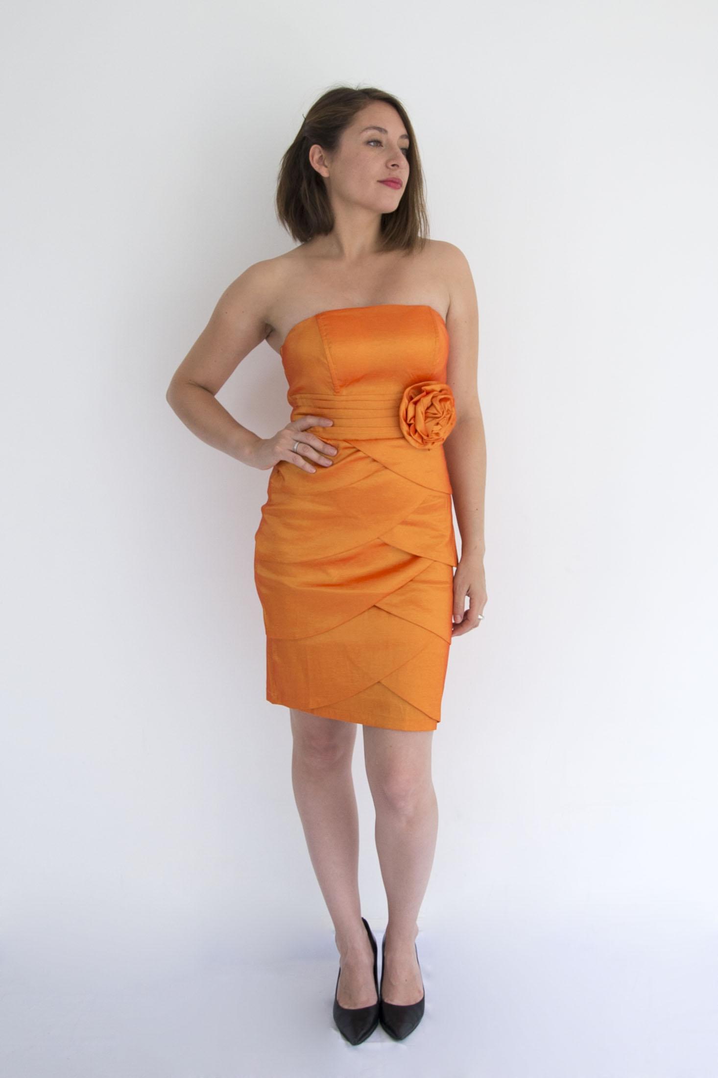 Vestido  Pretina Flor