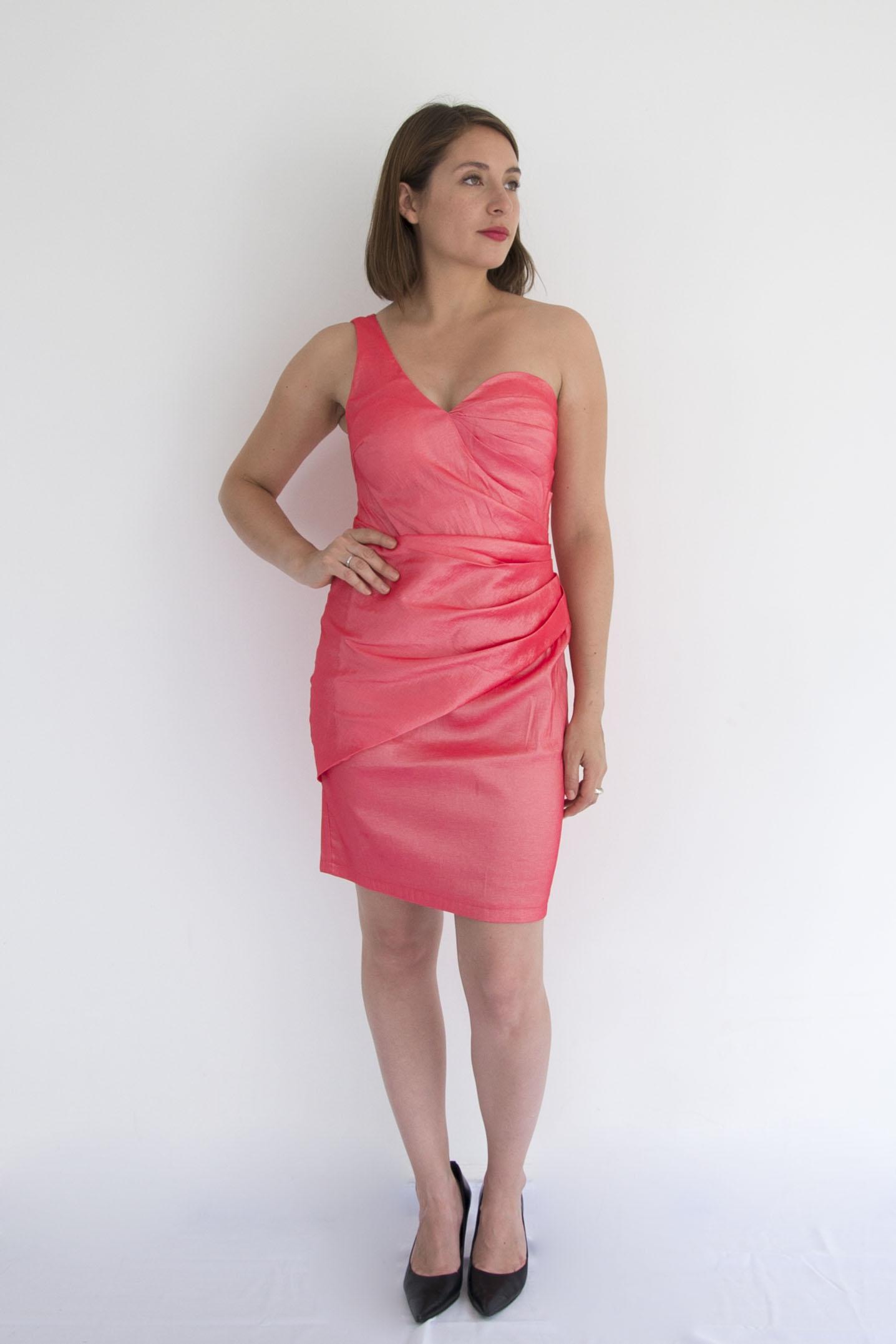 Vestido Semi Strapless