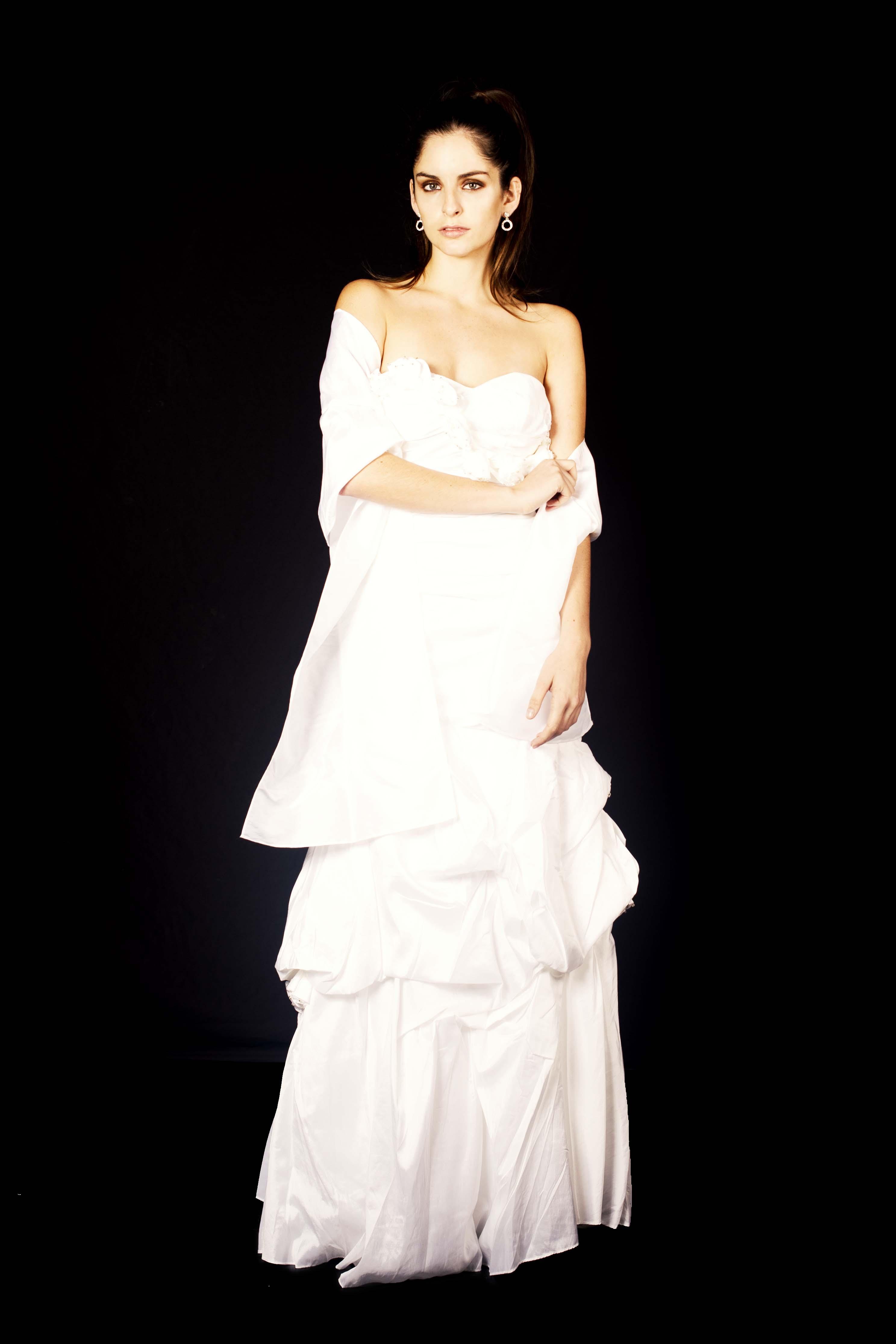 Vestido Strapless Princesa